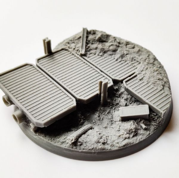 80mm Trench Warfare Base 3